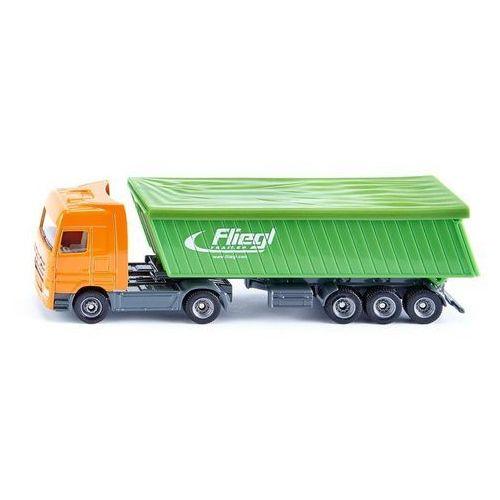Siku , ciężarówka z naczepą i plandeką - trefl