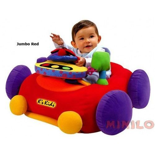 Samochód Jumbo Go Go Go K's Kids - red