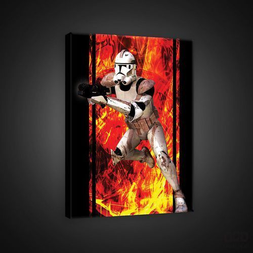 Obraz klon trooper -star wars zemsta sitów episode 3 ppd1179, marki Consalnet