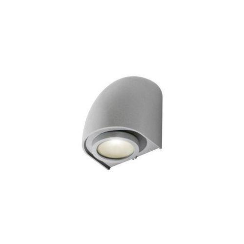 Azzardo Fons GM1108 Kinkiet lampa ścienna oprawa zewnętrzna 1x50W GU10 IP65 ciemny szary - darmowa wysyłka + żarówka LED za 1 zł GRATIS! (5901238408901)
