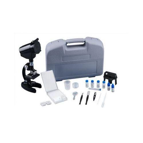 Mikroskop o powiększeniu 1200 razy!! + 98 akcesorii + walizka. marki Opticon
