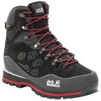 Męskie buty w góry WILDERNESS PEAK TEXAPORE MID M black / red - 8,5