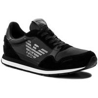 Sneakersy EMPORIO ARMANI - X4X215 XL198 A792 Black/Black/Black