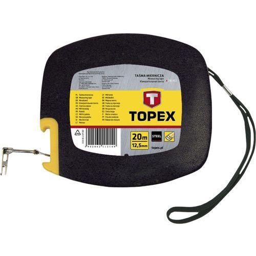 Taśma miernicza TOPEX 28C412 stalowa 12.5 mm (20 m)