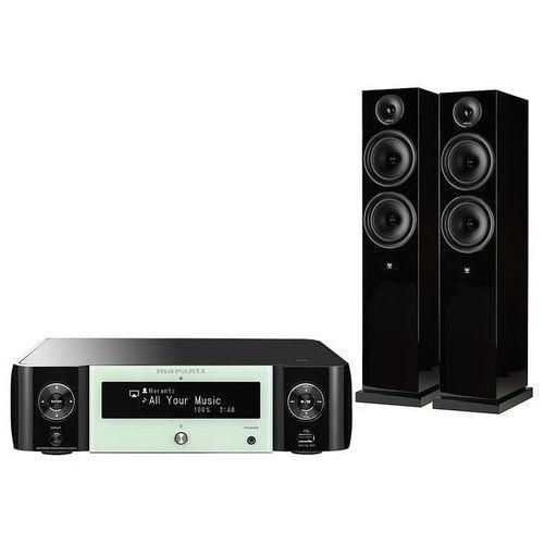 Marantz mcr511 + el-8 - zestaw stereo ciesz się bogatym i czystym dźwiękiem | gwarancja 3-lata | raty 0%