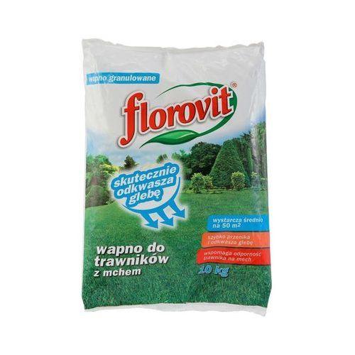 Florovit wapno do trawników z mchem 10kg, 5900498008227