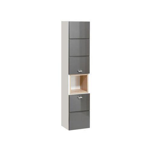 Comad szafka wysoka finka grey (słupek) finkagrey800