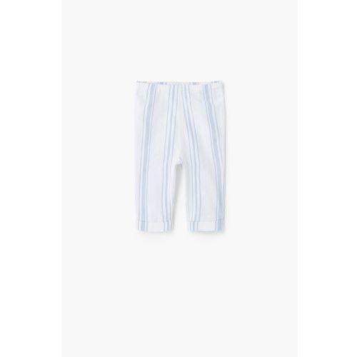 Mango Kids - Spodnie dziecięce Madison 62-80 cm