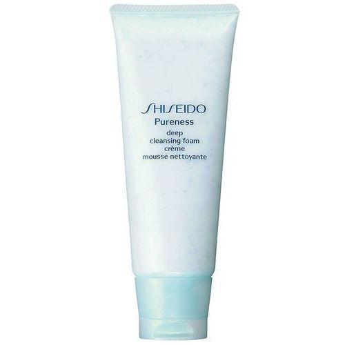 Shiseido Pureness deep cleansing foam- głęboko oczyszczająca pianka do mycia twarzy 100ml