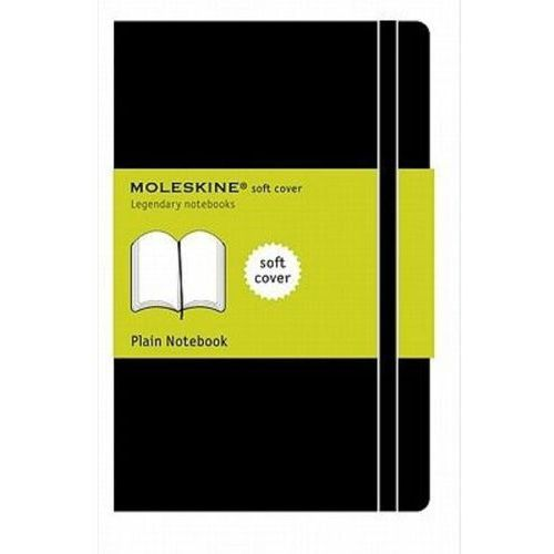 Moleskine Notes gładki czarny, duży, miękka oprawa - moleskine. darmowa dostawa do kiosku ruchu od 24,99zł (9788883707209)