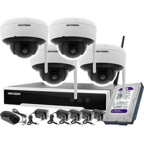 Zm11990 monitoring zestaw bezprzewodowy 4 kamery wifi 4mpx 1tb marki Hikvision