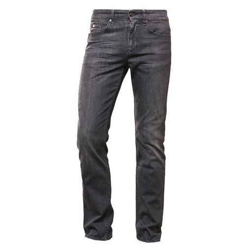 BOSS Green CDELAWARE Jeansy Slim fit dark grey, kolor szary