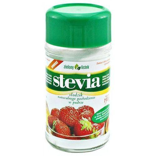 Stevia stewia naturalny słodzik w pudrze puder 150g - zielony listek od producenta Zielony listek domos