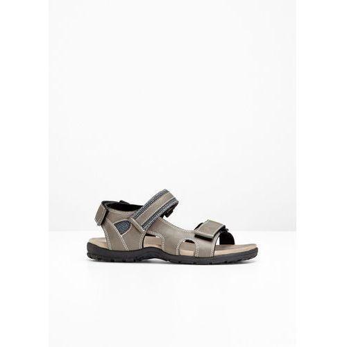 Sandały trekkingowe bonprix brunatny, w 6 rozmiarach