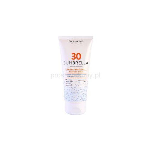 Dermedic Sunbrella mleczko ochronne SPF 30 + do każdego zamówienia upominek. z kategorii Pozostałe kosmetyki do opalania