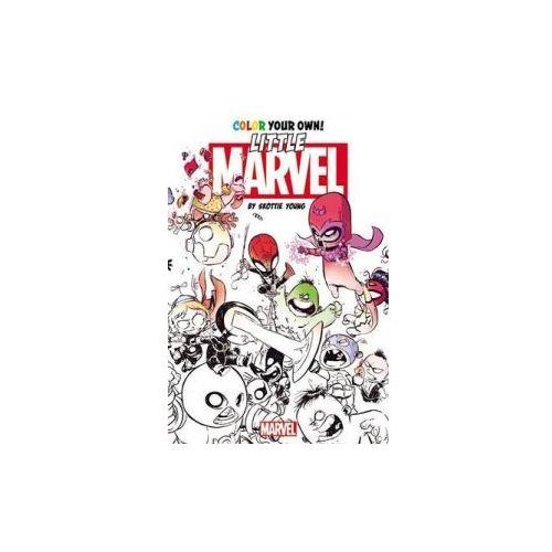Color Your Own Little Marvel by Skottie Young