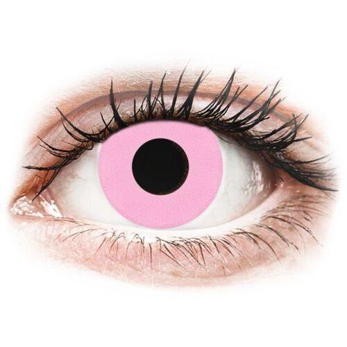 Gelflex Crazy lens - barbie pink - jednodniowe zerówki (2 soczewki)