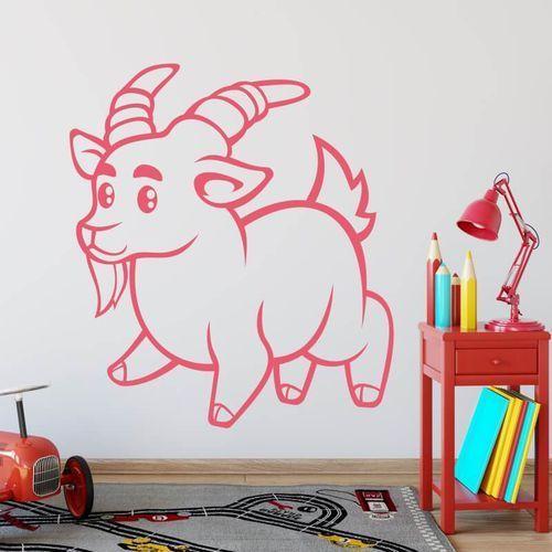Wally - piękno dekoracji Szablon do malowania dla dzieci koziołek 2411