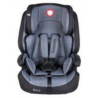 Lionelo Fotelik 9-36 kg Nico black - DARMOWA DOSTAWA OD 199 ZŁ!!!, 1_599692