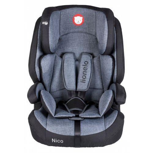 Lionelo Fotelik 9-36 kg nico black (5902581652447)