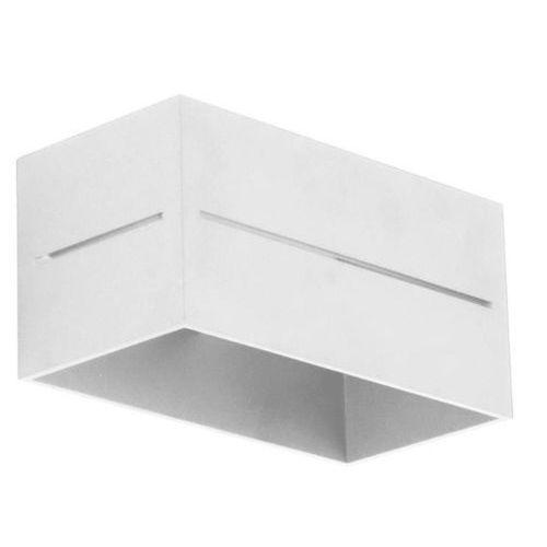 Kinkiet quado pro b biały - biały marki Lampex