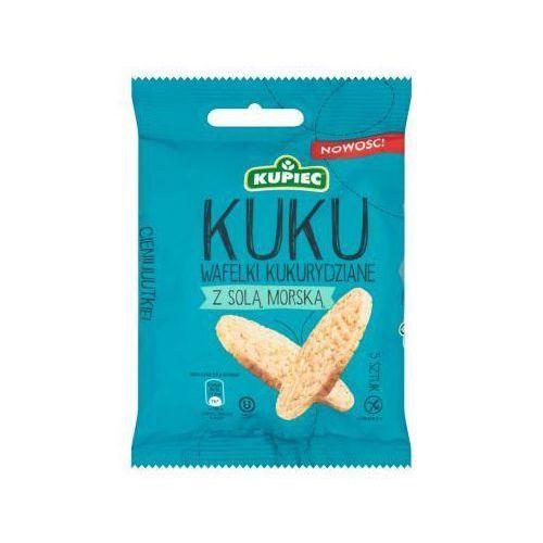 Wafle kukurydziane z solą morską 18 g Kupiec - sprawdź w wybranym sklepie