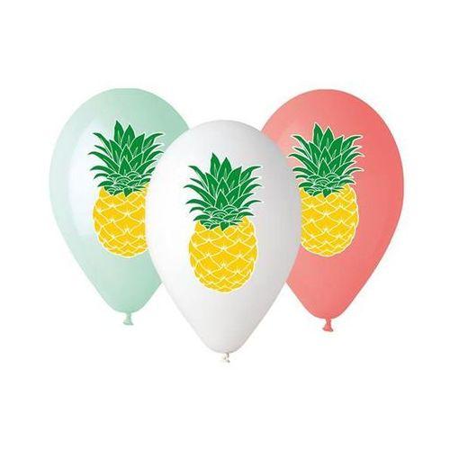 Balon ananas mix 33cm 1szt marki Twojestroje.pl