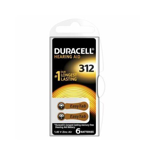 Duracell Baterie ha312 (6 szt.) (0000096091463)