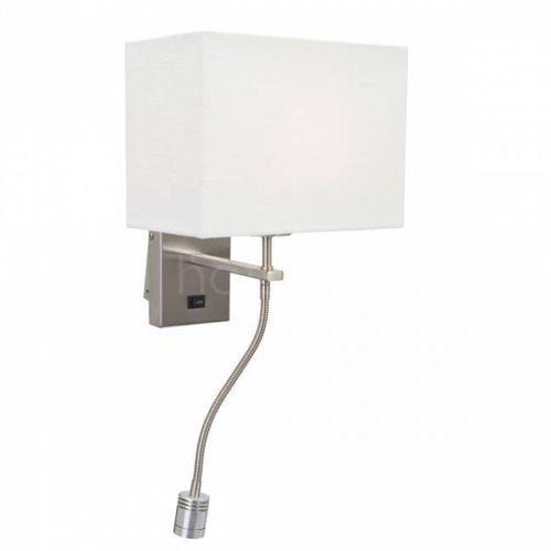 Steinhauer  louis lampa ścienna stal nierdzewna, 2-punktowe - nowoczesny - obszar wewnętrzny - louis - czas dostawy: od 4-8 dni roboczych (8712746096644)