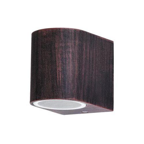 Kinkiet zewnętrzny lampa ścienna chile 1x35w gu10 ip44 antyczny brąz 8018 marki Rabalux
