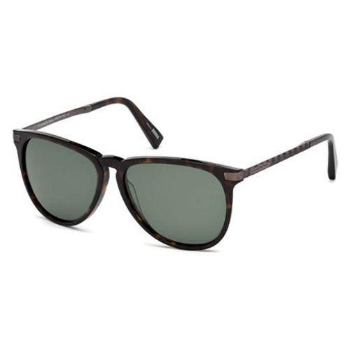 Okulary Słoneczne Ermenegildo Zegna EZ0038 Polarized 52R
