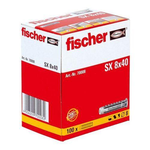 Fischer Kołki rozporowe sx 8 x 40 (100 szt.) (4006209700082)