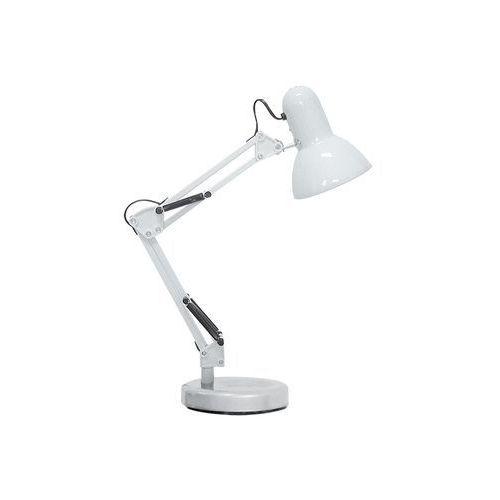 Lampa stołowa lampka Rabalux Samson 1x60W E27 biały 4211 (5998250342115)