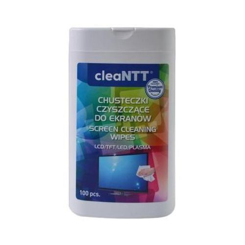 Chusteczki czyszczące NTT cleaNTT do ekranów LCD/TFT/LED/plazma 100 szt.