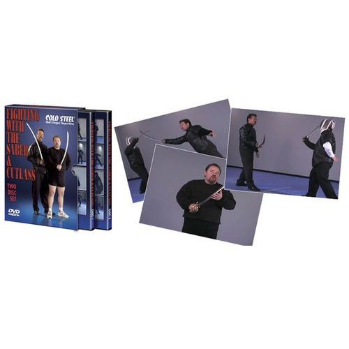 DVD Cold Steel Fighting With The Saber And Cutlass (VDFSC), VDFSC