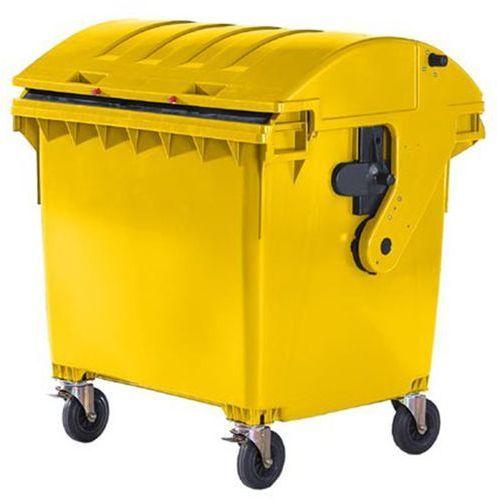Schaefer group Duży pojemnik z tworzywa na odpady wg pn en 840, poj 1100 l, pokrywa przesuwana,
