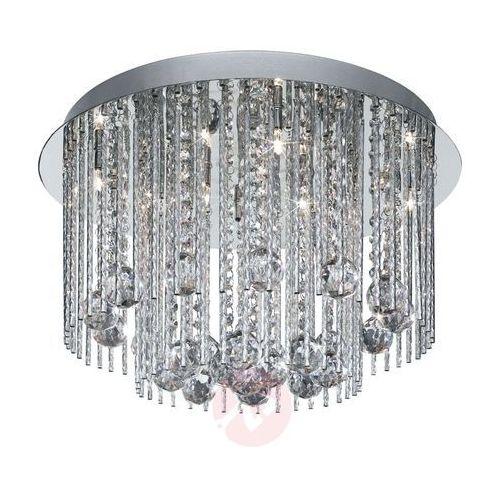 Searchlight Beatrix - lampa sufitowa ze zwis. kryształami (5013874386274)