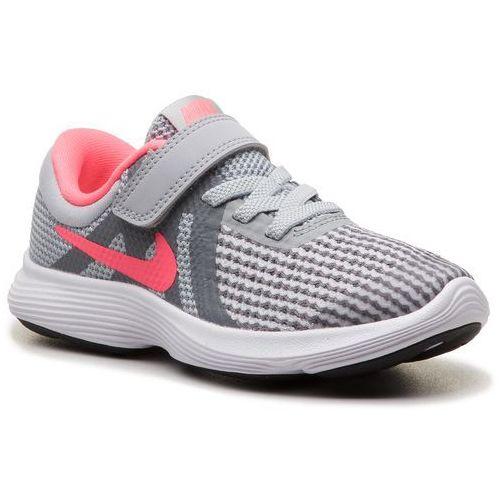 Nike Buty - revolution 4 (psv) 943307 003 wolf grey/racer pink/cool grey
