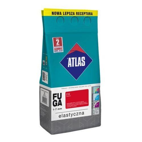 Atlas Fuga cementowa 216 czerwony 2 kg
