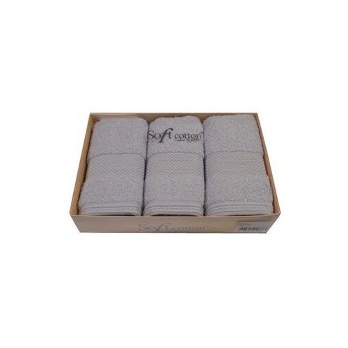 Zestaw podarunkowy małych ręczników deluxe jasnoniebieski marki Soft cotton