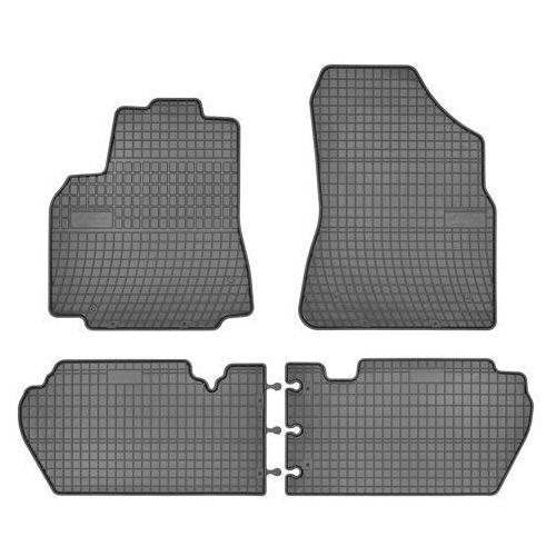 Zestaw szarych dywaników gumowych FROGUM GR0633, 5907377543039
