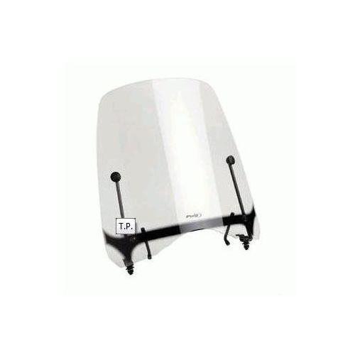 Szyba czołowa (t.p.) kymco new dink 125/200i biała syp4539w marki Puig