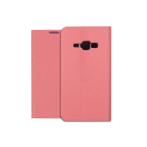 Samsung Galaxy J1 (2016) - pokrowiec na telefon - różowy