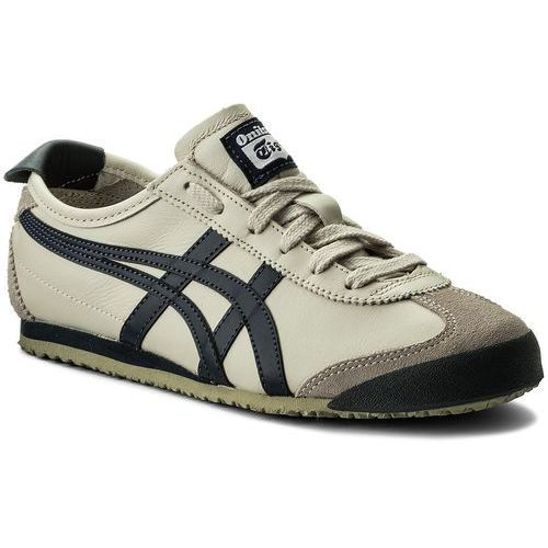 Asics Sneakersy - onitsuka tiger mexico 66 dl408 birch/india ink/latte 1659
