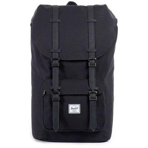little america plecak czarny 2018 plecaki szkolne i turystyczne marki Herschel