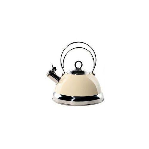 Czajnik cookware 2l z gwizdkiem, kremowy marki Wesco