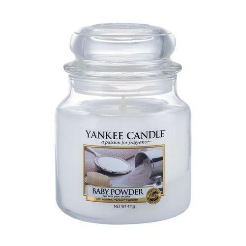 Yankee candle baby powder 411 g świeczka zapachowa