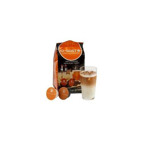 Kapsułki latte macchiato 16 kapsułek marki O-gusto