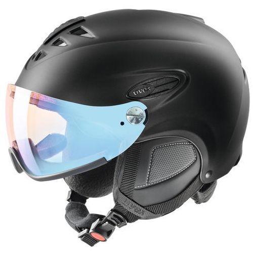 UVEX hlmt 300 vario Kask snowboard czarny Kaski narciarskie, 56/6/203/22/05
