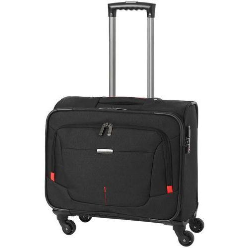 """Travelite @Work walizka mała kabinowa 23/45 cm / pilotka na laptopa 15"""" / czarna - czarny"""